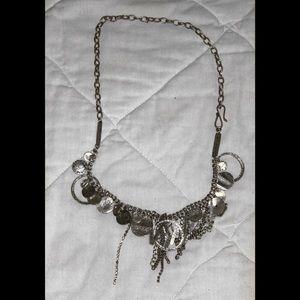 Sliver Charm Necklace